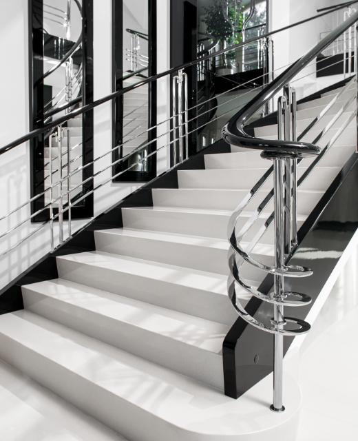 Art Deco Betontreppe