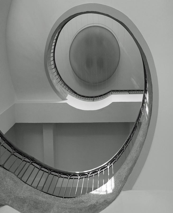 Henry van de Veldes Treppe Weimar