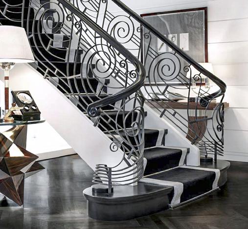 Hochwertiges Treppengeländer
