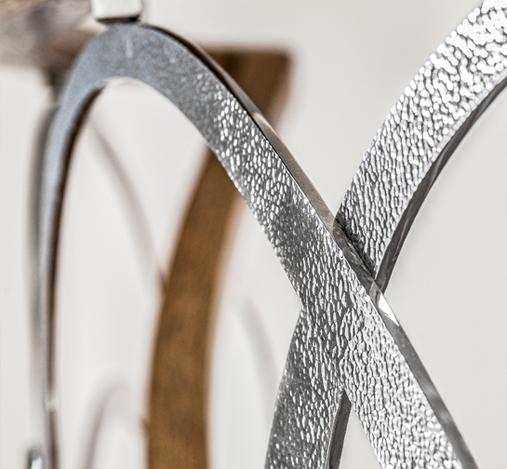 Treppengeländer Metall und Stahl