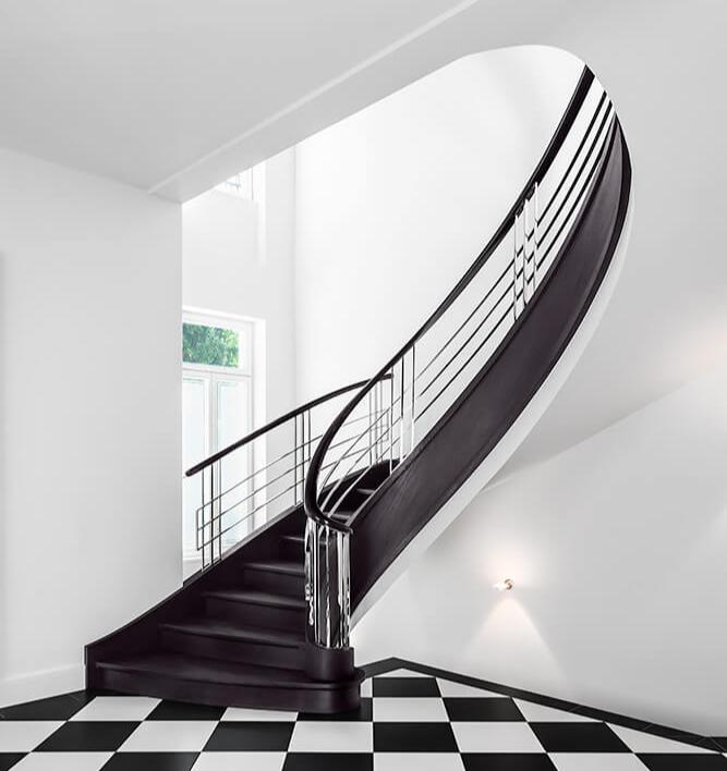 Art Deco im Treppenbau